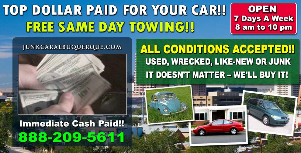 Cash For Junk Cars Online Quote Endearing Get Your Online Quote Now  Junk Car Albuquerque